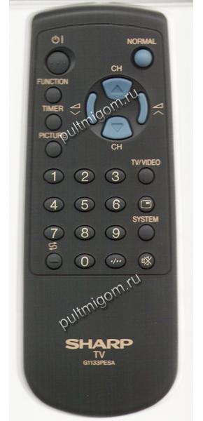 Купить Пульт оригинальный Sharp G1133PESA в интернет-магазине Pultmigom.ru.