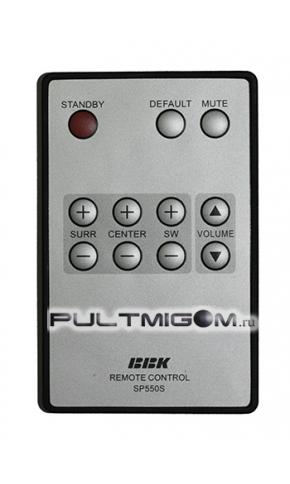 Купить Оригинальный пульт BBK SP550S для аккустической системы в интернет-магазине Pultmigom.ru.